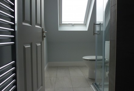 En-suite with Velux Window