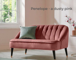 Penelope - dusty pink paint colour of the year