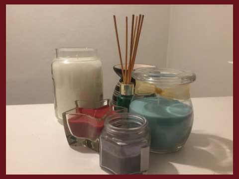 Put candles in your loft guest room