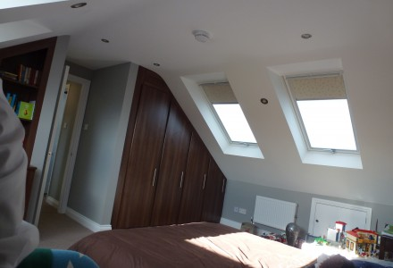 Internal Velux windows