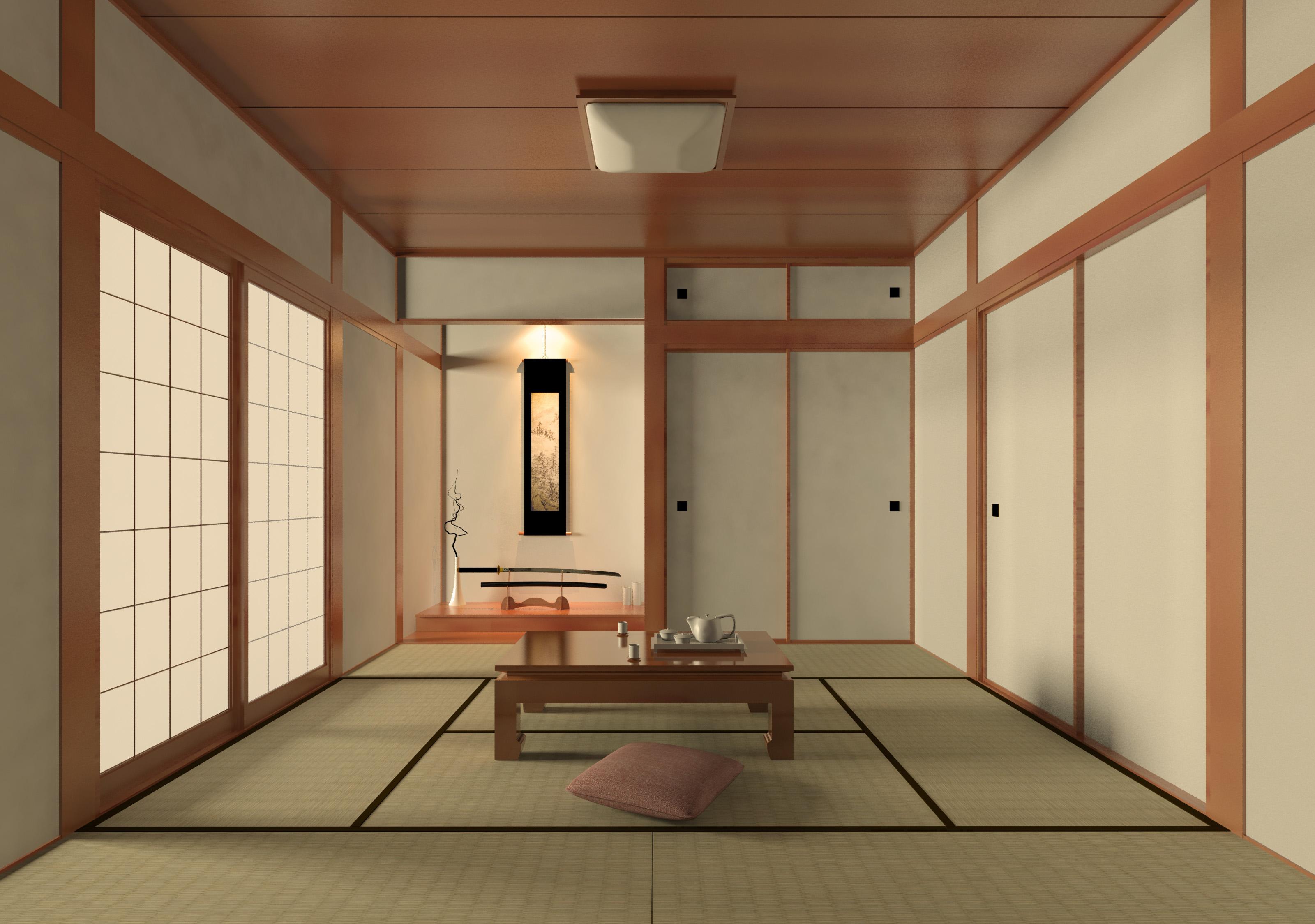 zen loft room
