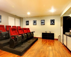 Turn your garage into a home cinema