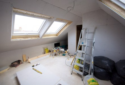 Loft conversions are also a great idea for young people unable to leave their parents' home.