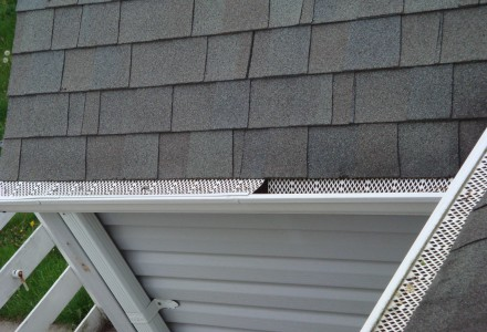 gutter guards on roof