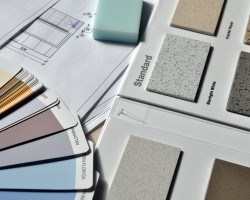 home renovation paint boards