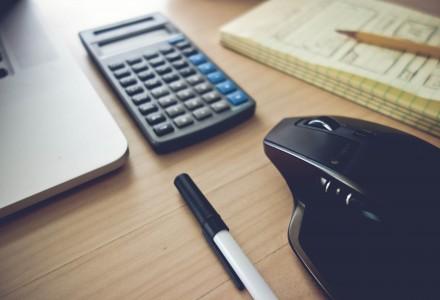 calculator - pen
