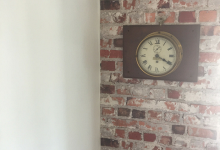 Bricks-Wall-Clock