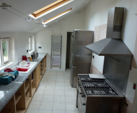 Vents in kitchen to avoid humidity from cooking