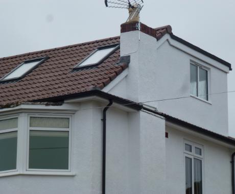 Inspect roof repair broken tiles