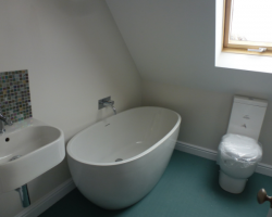 Loft Conversion Bathroom Bath Sink Toilet