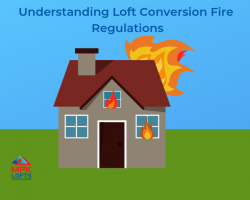 Fire safety loft conversion house fire